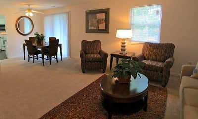 Living Room, Eagle Creek Court, 1