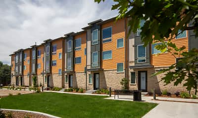 Building, Majestic Townhomes, 2