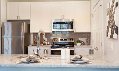 Kitchen, Satori Flats, 1