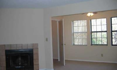 Living Room, Ridge Pointe Apartment Homes, 2