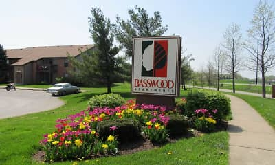 Building, Basswood Apartments, 1