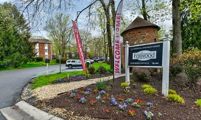 Community Signage, Foxwood, 2
