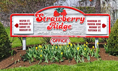 Community Signage, Strawberry Ridge Apartments, 2
