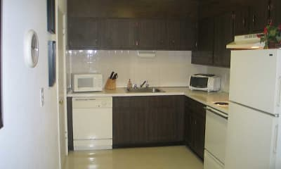 Kitchen, Lord Baron Apartments, 1