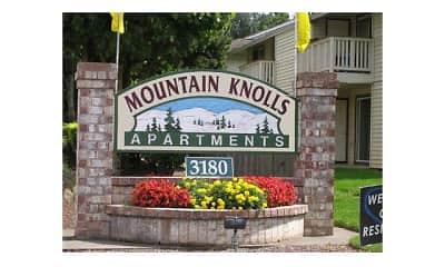 Community Signage, Mountain Knolls, 2