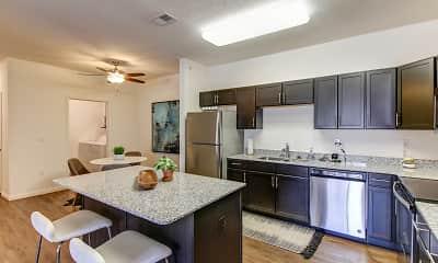 Kitchen, Antler View, 1