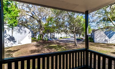 Patio / Deck, Riverbank Apartment Homes, 2