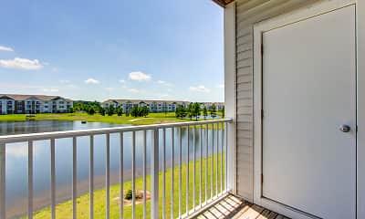 Patio / Deck, Killian Lakes Apartments & Townhomes, 2