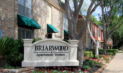 Community Signage, Briarwood Apartments, 2