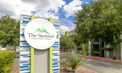 Community Signage, Summit Apartments, 0