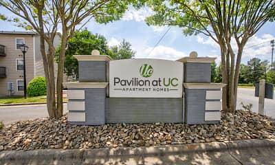 Community Signage, Pavilion at UC, 2