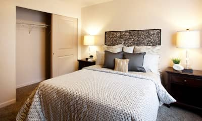 Bedroom, Residence At River Run Apartments, 0