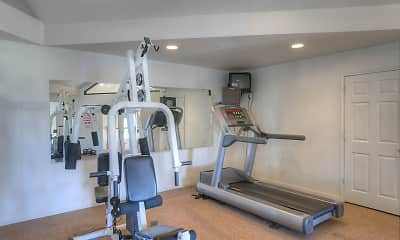 Fitness Weight Room, Spurlock North Apartments, 0