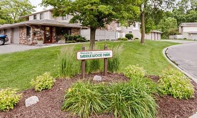 Community Signage, Saddlewood Park Townhomes, 2