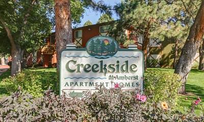 Community Signage, Creekside at Amherst, 0