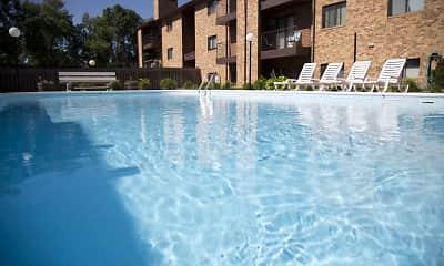 Pool, Westwood Park Apartments, 0