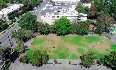 birds eye view of property, Catalina Apartments, 2