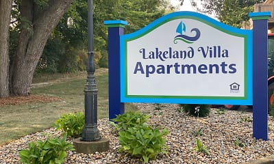 Community Signage, Lakeland Villa Apartments, 2