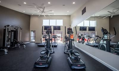 Fitness Weight Room, 7 Pointe, 1