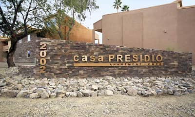Community Signage, Casa Presidio Apartments, 2