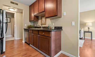 Kitchen, Melrose Gates Apartments, 1