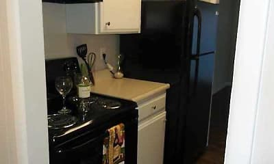 Kitchen, Spanish Villa Apartments, 1