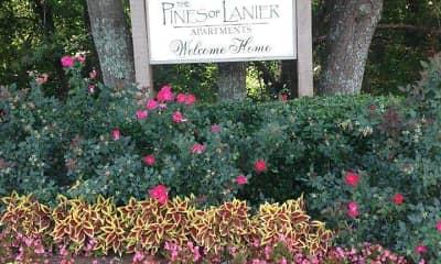 Community Signage, Pines of Lanier, 0