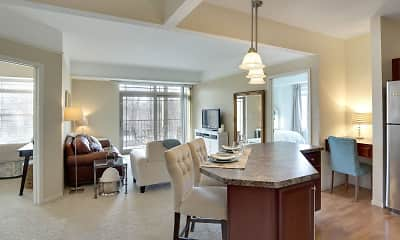 Dining Room, The Gables at Park Pointe, 0