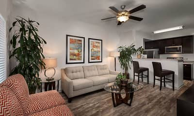 Living Room, Carmel at Woodcreek West, 1