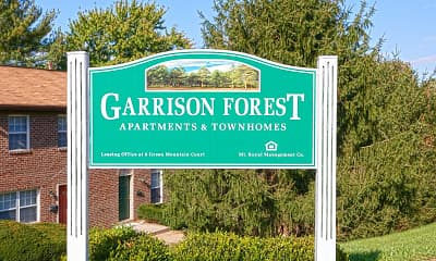 Community Signage, Garrison Forest, 2