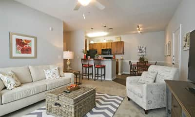 Living Room, Vinings at Carolina Bays, 1