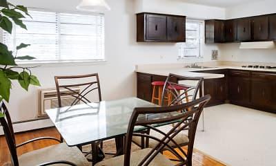 Kitchen, Cedar Arms, 1