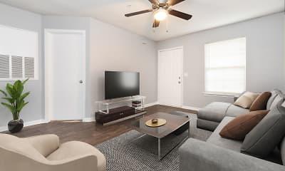 Living Room, Concord Flats, 1