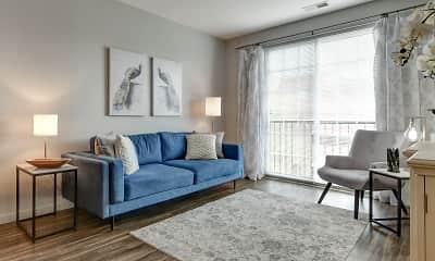 Living Room, Broadway Station, 1