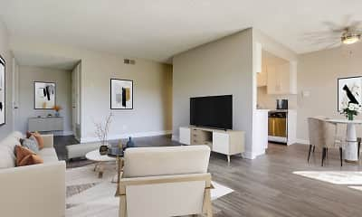 Living Room, The Dylan, 1