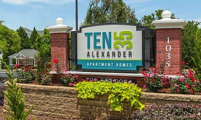 Community Signage, TEN35Alexander, 0