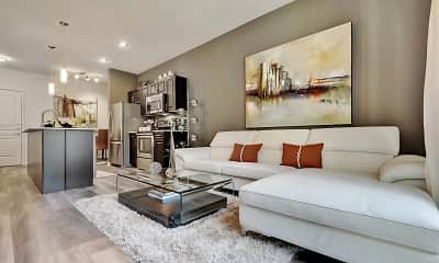 Living Room, Residences at the Domain, 0