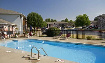 Pool, Grandview Village Apartments, 0
