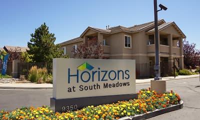 Community Signage, Horizons At South Meadows, 0