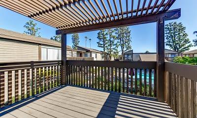 Patio / Deck, Westmont Apartment Homes, 2