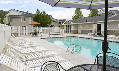 Pool, Thorneberry Atrium Senior Living 55+, 1