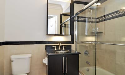 Bathroom, Fairfield Tudor At Rockville Centre, 2