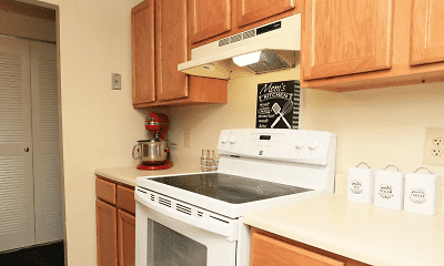 Kitchen, Mallard Courts Apartments, 0