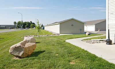 Landscaping, Northern Plains Apartments, 2