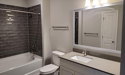 Bathroom, Sea Sound Apartments, 2