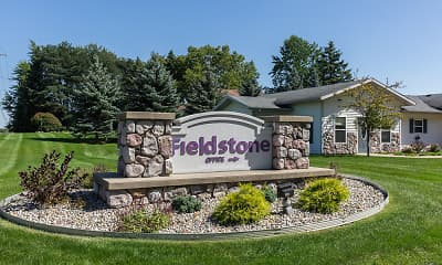 Community Signage, Fieldstone Apartments, 0
