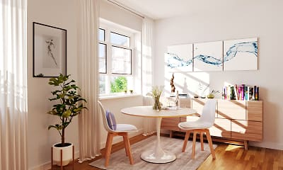 Dining Room, Jasontown Apartments, 1