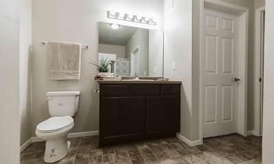 Bathroom, Diamond Bend Apartments, 1