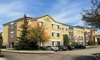 Building, Furnished Studio - Detroit - Southfield - Northwestern Hwy., 0