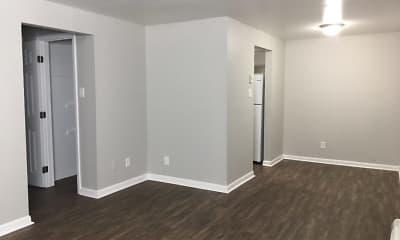 Living Room, The Flats at Bridalwood, 0